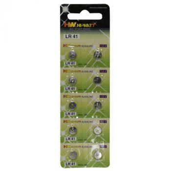 Knoop Batterijen - 10 stuks (LR41)