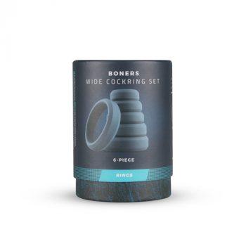 Boners 6-Delige Cockring Set