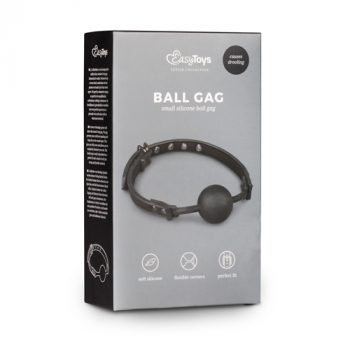 Ball gag met siliconen bal