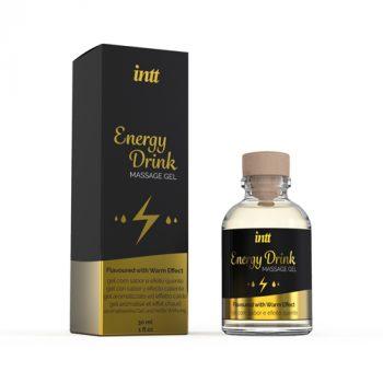 Energy Drink Verwarmende Massage Gel