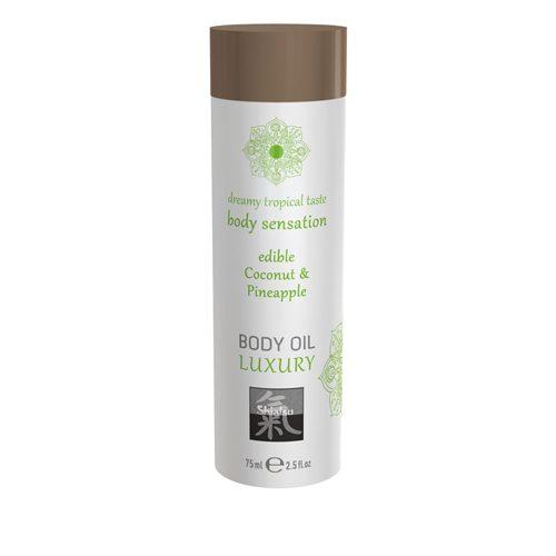 Luxe Eetbare Body Oil - Kokosnoot & Ananas
