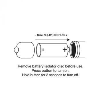 Single Speed Bullet Vibrator - Copper