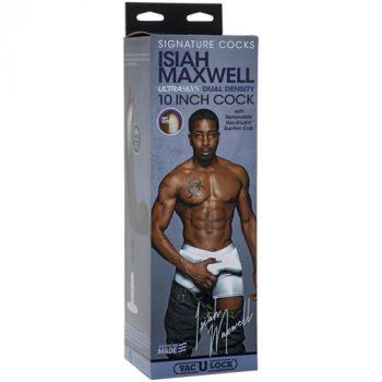 Isiah Maxwell Realistische Dildo Met Balzak - 22.2 cm