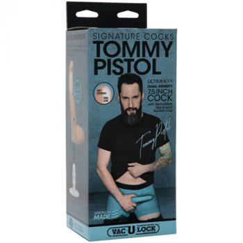 Tommy Pistol Realistische Dildo Met Balzak - 15.9 cm