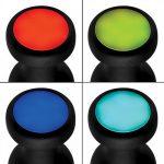 Vibrerende Buttplug Met LED-licht - Medium