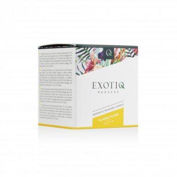 Exotiq Massagekaars Ylang Ylang - 60g