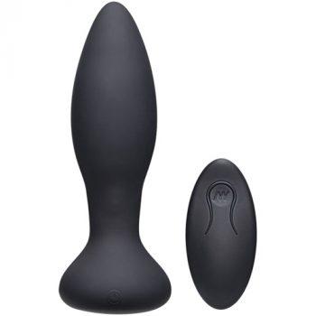 Thrust Experienced Stotende Buttplug - Zwart