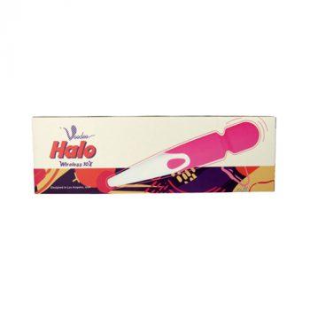 Halo Wireless Wand Vibrator - Roze