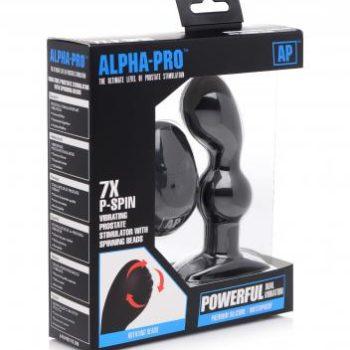 P-Spin prostaat Vibrator Met Roterende Kralen