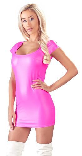 Wetlook Party Jurkje - Roze