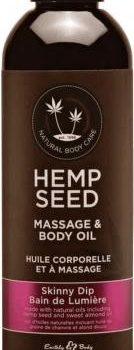 Skinny Dip Massage Olie - Suikerspin/Vanille