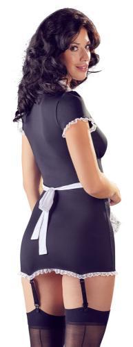 Sexy Dienstmeisje Kostuum Met Jarretels