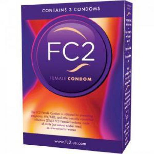 FC2 Vrouwen Condooms - 3 st.