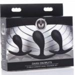 Dark Droplets Gebogen Anaal Trainer - Set Van 3