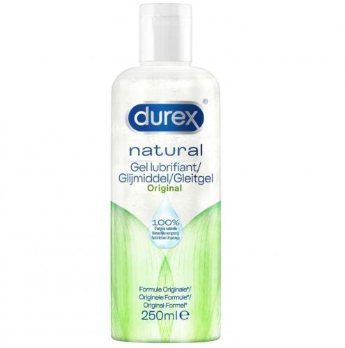 Durex Glijmiddel Natural Waterbasis - 250 ml