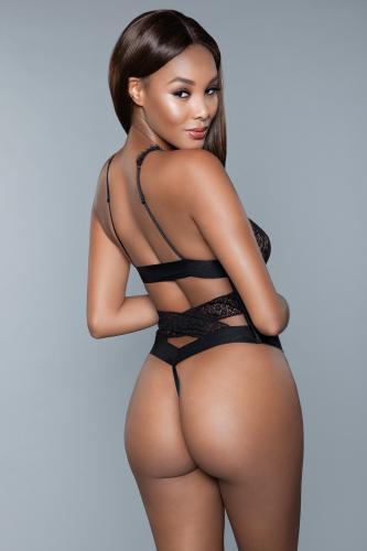 Ilana Stringbody - Zwart