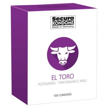 Secura El Toro Condooms - 100 stuks