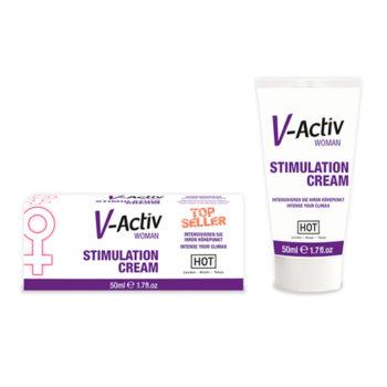 HOT V-Activ Stimulerende Crème Voor Vrouwen - 50 ml