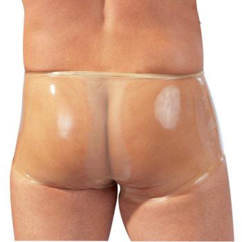 Latex Boxer Met Penissleeve - Transparant