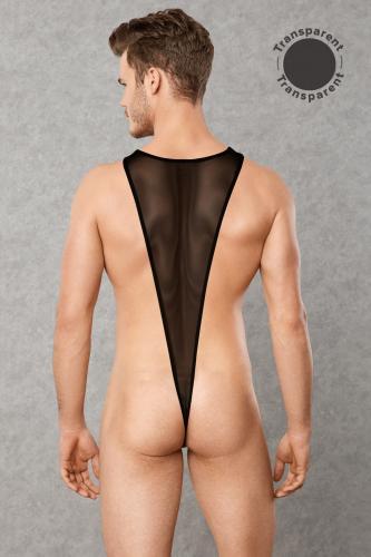 Transparante Heren Bodysuit