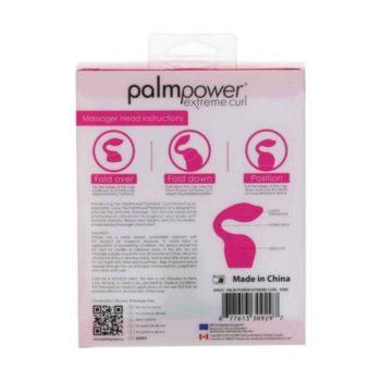 Palm Power - Extreme Curl Siliconen Opzetstuk - Roze