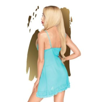 Penthouse Lingerie - After Sunset Babydoll - Blauw