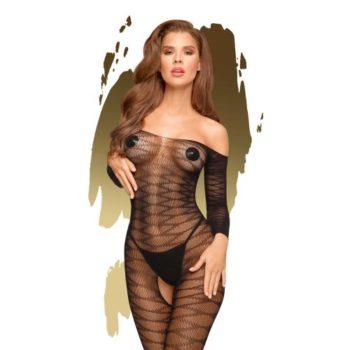 Penthouse Lingerie - Dreamy Diva  Off-Shoulder Catsuit