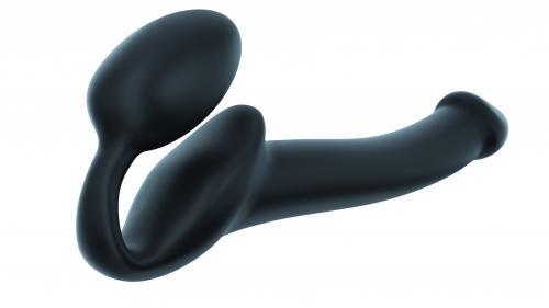 Strap On Me - Strapless Voorbind Dildo - Maat S - Zwart