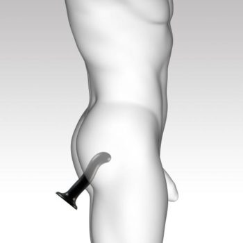 Strap On Me - Point - Dildo Voor G- en P-spot Stimulatie - S