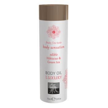 Luxe Eetbare Body Oil - Hibiskus & Groene Thee