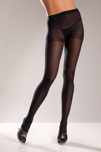 Opaque Panty - Black