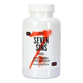 Seven Sins - Boost - Sperma Booster - 60 stuks