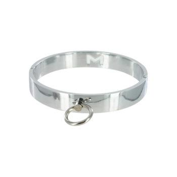 Chrome Slave Collar - Medium/Large