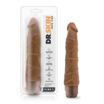 Dr. Skin -  Cock Vibe no1 Vibrator - Mocha