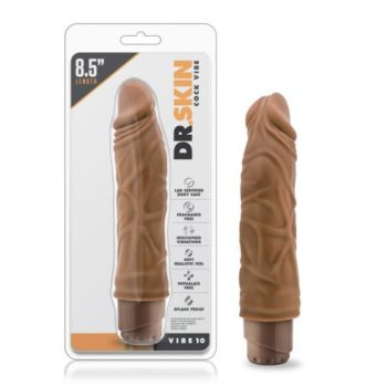 Dr. Skin - Cock Vibe no10 Vibrator - Mocha