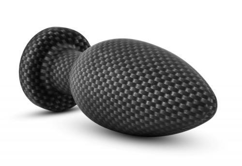 Spark - Siliconen Anaal Plug Carbon Fiber - Small