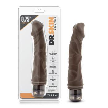 Dr. Skin - Cock Vibe no6 Vibrator - Chocolate
