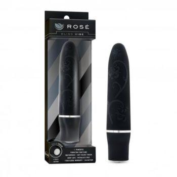 Rose - Bliss Vibe Bullet Vibrator - Zwart