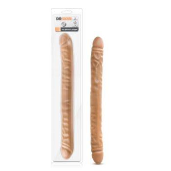 Dr. Skin - Realistische Dubbele Dildo 45 cm - Mocha