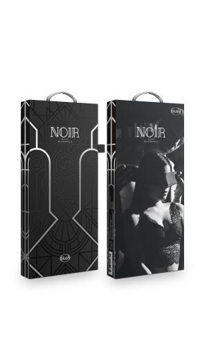 Noir - Satijnen Blinddoek - Zwart