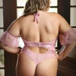 Annabelle Kanten Stringbody - Curvy